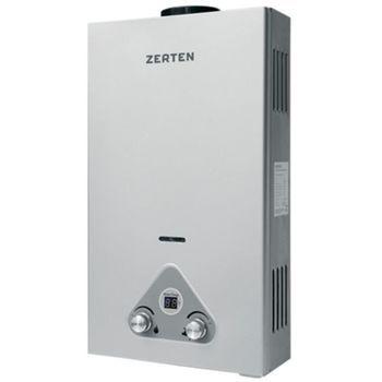Газовая колонка Zerten S-16 стальной с дисплеем фото